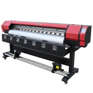 1,8 εκ. Ψηφιακός εκτυπωτής ψηφιακός εκτυπωτής διπλής κεφαλής εκτυπωτή DX5 WER-ES1901