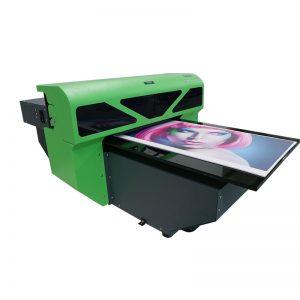1800 A2 μέγεθος νέο σχεδιασμό κλωστοϋφαντουργικών flatbed γυαλί μηχανή εκτύπωσης εκτυπωτή WER-D4880UV