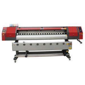 1800 χιλιοστά 5113 διπλής κεφαλής ψηφιακή εκτύπωση κλωστοϋφαντουργικών μηχανών inkjet εκτυπωτή για banner WER-EW1902