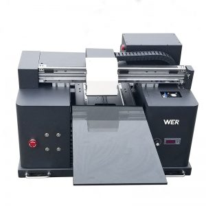 2017 φθηνό A4 μέγεθος γραφείου δισκίο uv οδήγησε επίπεδη ψηφιακό εκτυπωτή WER-E1080UV