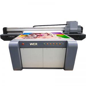 3D εκτυπωτής επίπεδης επιφάνειας UV, εκτυπωτής κεραμικών, μηχανή εκτύπωσης πλακιδίων στην Κίνα WER-EF1310UV