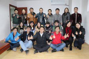 Οι εργαζόμενοι B2B στο κεντρικό γραφείο, το 2015
