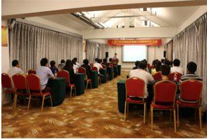 Ομάδα συνάντησης στο ξενοδοχείο Wanxuan Garden, 2015