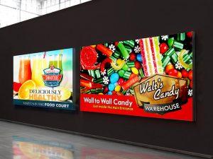 Μονόπλευρη λύση εκτύπωσης εξωτερικής και εσωτερικής διαφήμισης