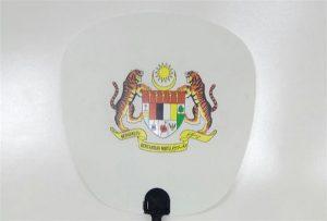 Δείγμα πλαστικού ανεμιστήρα εκτυπωμένο με εκτυπωτή μεγέθους uv 6090UV