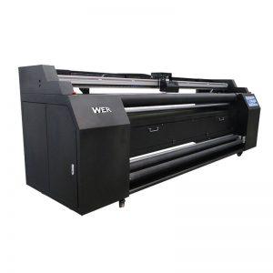WER-E1802T 1,8 μ. Απευθείας στον εκτυπωτή κλωστοϋφαντουργίας με εκτυπωτή εξάχνωσης 2 * DX5