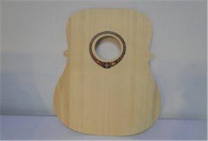 Δείγμα κιθάρας ξύλου από εκτυπωτή μεγέθους A2 WER-DD4290UV