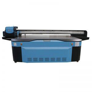 πλήρους έγχρωμου CMYK LCLM λευκό βερνίκι UV επίπεδη εκτυπωτή 3D WER-G2513UV