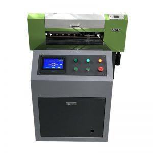 απευθείας σε ένδυμα ψηφιακά υφάσματα ύφασμα εκτύπωση υφασμάτων μηχανή T-shirt εκτυπωτής uv WER-ED6090T