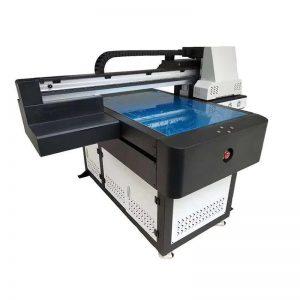 πολυλειτουργική υψηλής ποιότητας DTG επίπεδη UV εκτυπωτή LED LED επικεφαλής ricoh για ξύλο WER-ED6090UV