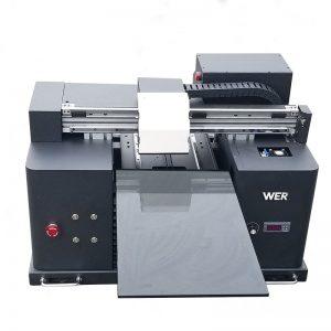 εκτύπωση άσπρου και έγχρωμου μελανιού ταυτόχρονα γρήγορη επιφάνεια εργασίας ψηφιακή κλίση απευθείας στο ένδυμα DTG T-shirt tshirt μηχάνημα εκτύπωσης εκτυπωτή WER-E1080T